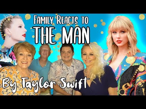 "3 Generations Of Family React To ""The Man"" By Taylor Swift 