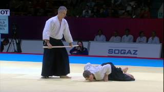 Aikido Bokken Demonstration Mexico & Australia SportAccord World Combat Games 2013