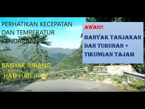 Ngeri!! ROAD TRIP Jalur Ekstrim Munjungan Trenggalek - Part 2