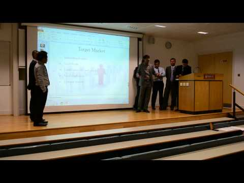 Group Presentation about to open a restaurant business in London