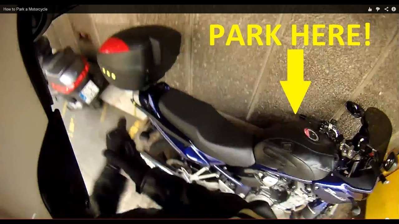 How to park a motorcycle youtube for John parker motors houston