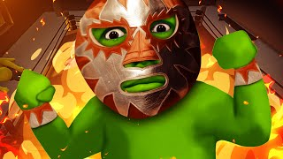 THE GREEN WRESTLER!!!