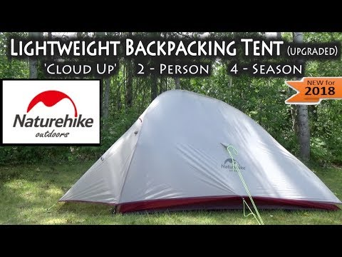 Naturehike 'Cloud Up' Lightweight 2-Person 4-Season Backpacking Tent