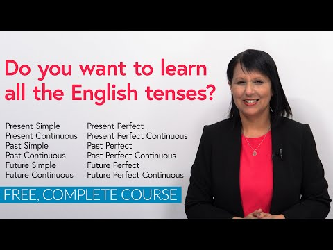 Do you want to learn all the English tenses?