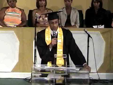 Joshua Penny's Valedictorian Speech at Forest Park Street School