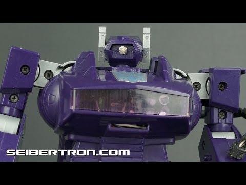 Transformers G1 Shockwave 1985 product demonstration 131110a