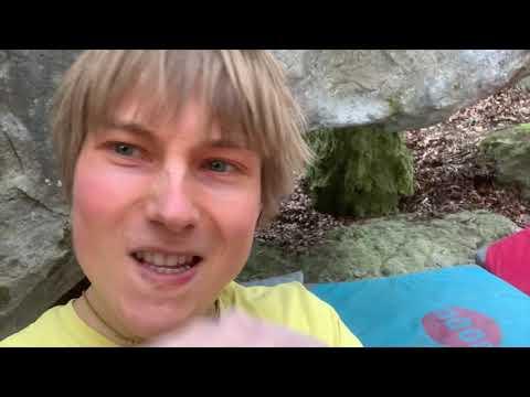 Alex Megos: Half Life - Frankenjura Bouldering