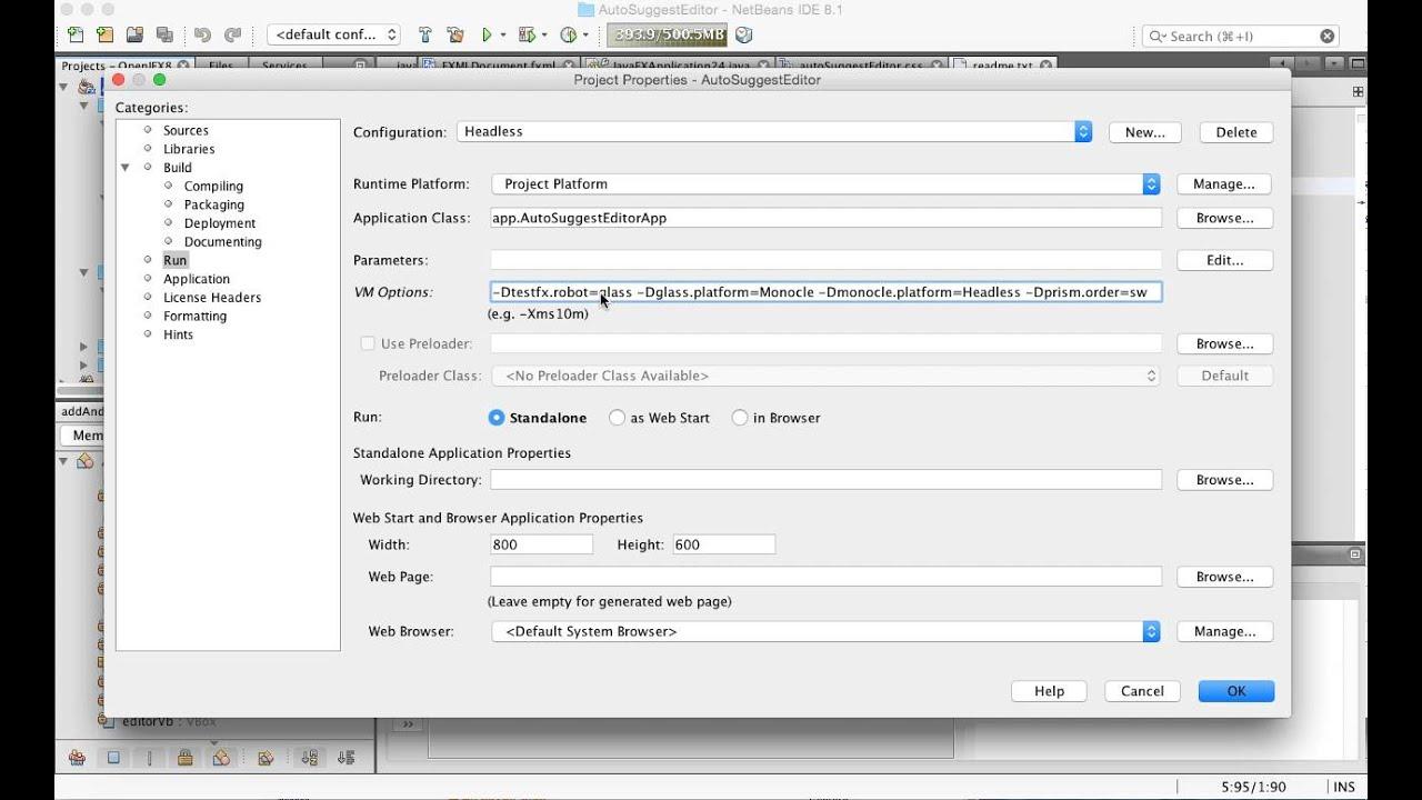 Testing JavaFX in headless mode | jerome's blog