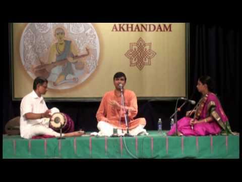 Part 01 - G Ravi Kiran Live - Rare Kritis of Dikshitar