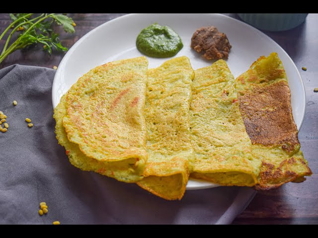 Moong Dal Dosa | Easy to Make Dosa Recipe | Healthy Breakfast Recipe