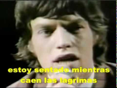 THE ROLLING STONES  AS TEARS GO BY SPANISH SUBTITLE