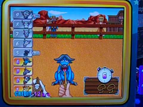 RODEO ARCADE GAME
