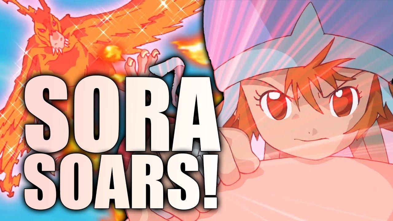 SHE'S BACK! SORA and BIRDRAMON | Digimon Adventure 2020 Episode 4