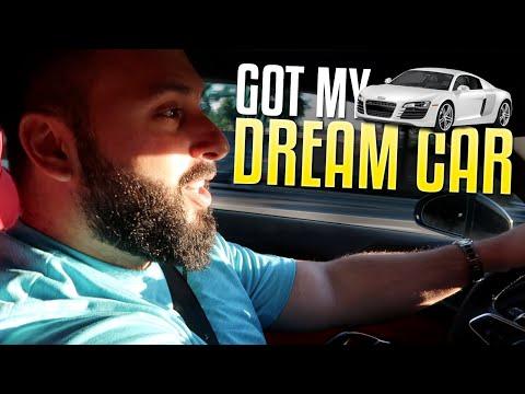 Buying My Dream Car (Audi R8 V10 Plus)