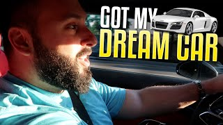 Buying My Dream Car (Audi R8 V10 Plus)