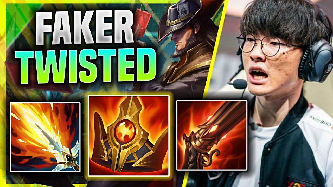 FAKER BRINGS BACK HIS TWISTED FATE! - T1 Faker Plays Twisted Fate Mid vs Zoe! | KR SoloQ Patch 11.4