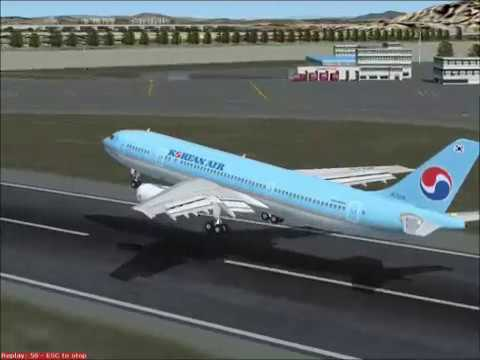 (FS2004) 2009 Korean air Flight Simulation Contest