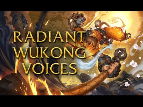 LoL Voices - Radiant Wukong - All 17 languages