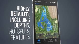 Carp Lake Maps - Iphone / Ipad and Android Carp Fishing App