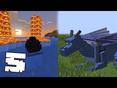 5 ТРЮКОВ С ЯЙЦОМ ЭНДЕР ДРАКОНА В Minecraft PE 1.2