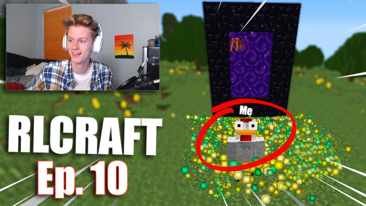 The Easiest Xp Farm In The Rlcraft Modpack Rlcraft Ep 10 Youtube