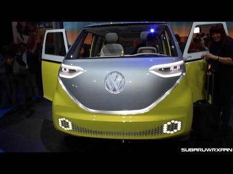 Volkswagen I.D. Buzz Concept Close-Up Look!