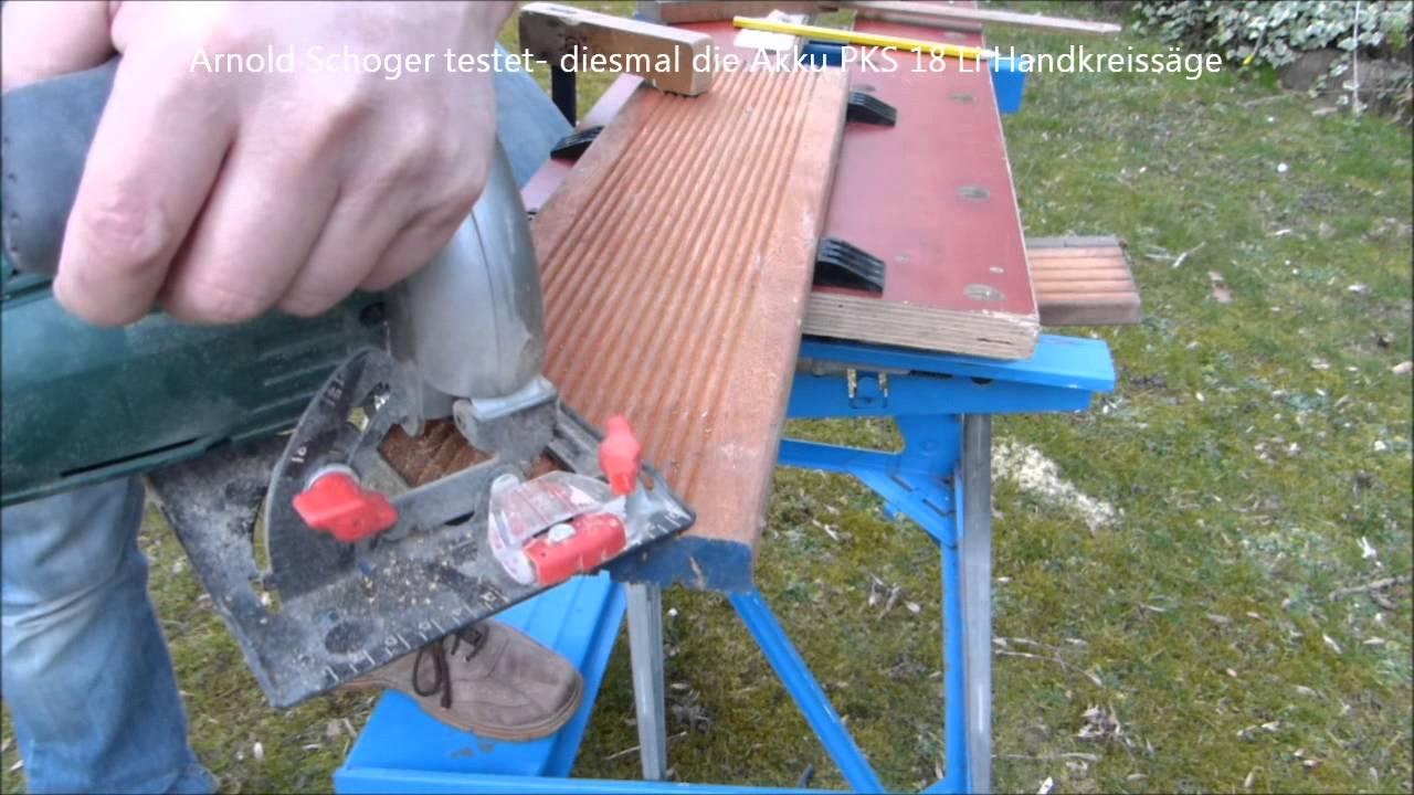 Top Hartholz Zuschnitt(Terrassendiele) mit der PKS 18 Li - YouTube HL93