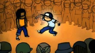 Kid Koala and Jonathan NG present Floor Kids : B-Boy O-Live vs. B-Boy Nugs