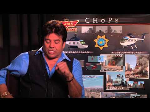 Erik Estrada Interview: Reliving 'CHiPs' for PLANES: FIRE & RESCUE & Social Media Pet Peeves