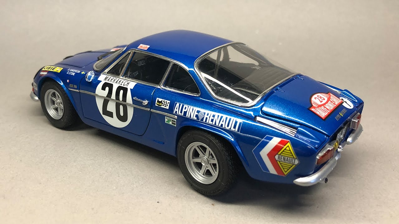 Tamiya Alpine Renault A110 Monte Carlo 71 Full Build Step By Step