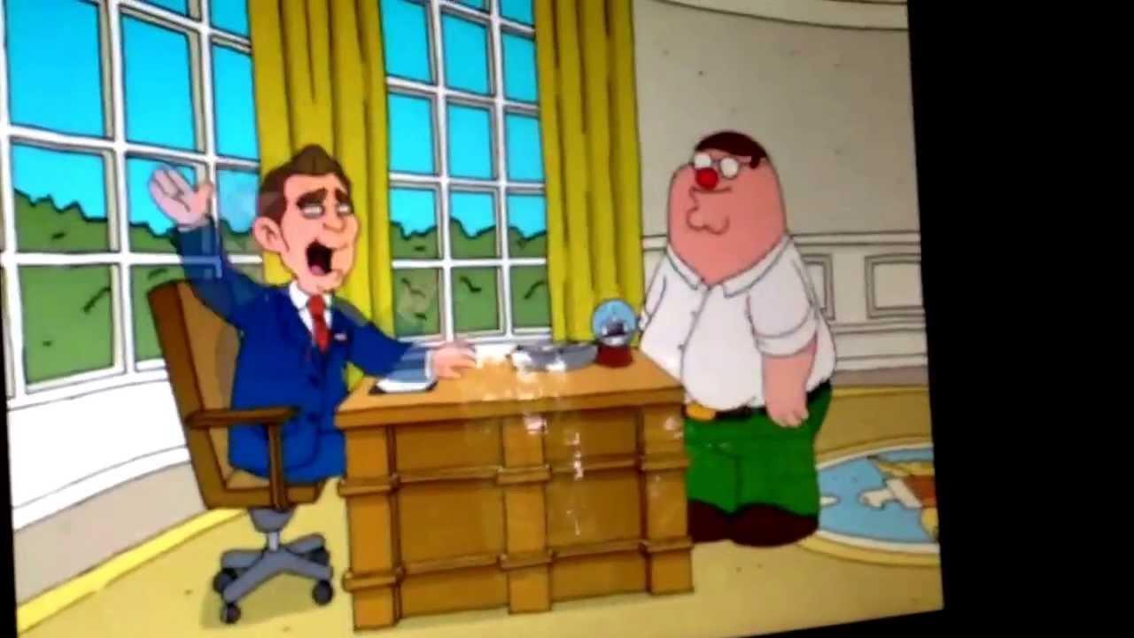Family Guy George Bush Crying Scene Youtube