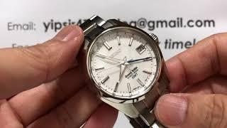 GRAND SEIKO HIGH BEAT GMT WHITE TITAN SBGJ011