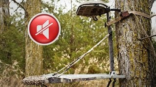 How to Silence Any Tree Stand!! DIY Tips