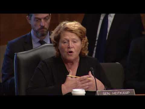 Senator Heitkamp Discusses National Security at Senate Homeland Security Committee Hearing