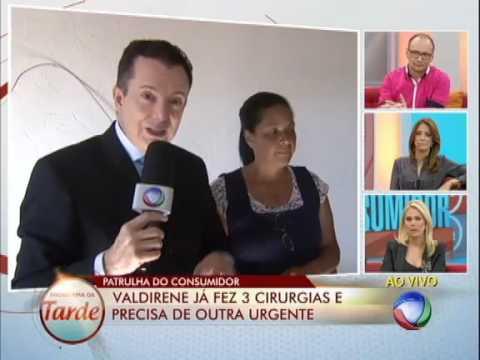 Mulher com doença grave pede ajuda a Celso Russomanno #ArquivoPatrulha