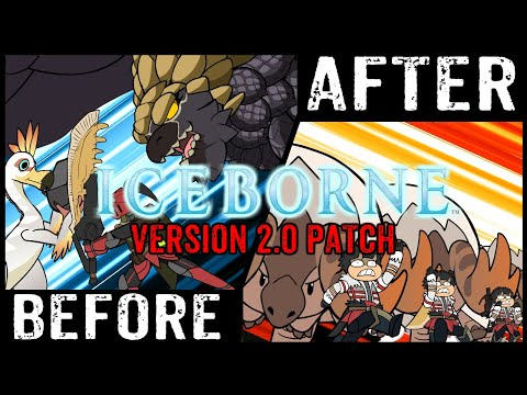 MHWorld Shots: Before And After Iceborne (Ver2.0, The Stuff I Forgot To Add)