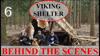 VIKING SHELTER WITH TA OUTDOORS - BEHIND THE SCENES; FIRE PIT, HINGED WINDOW, RAISED BED, Ep.6