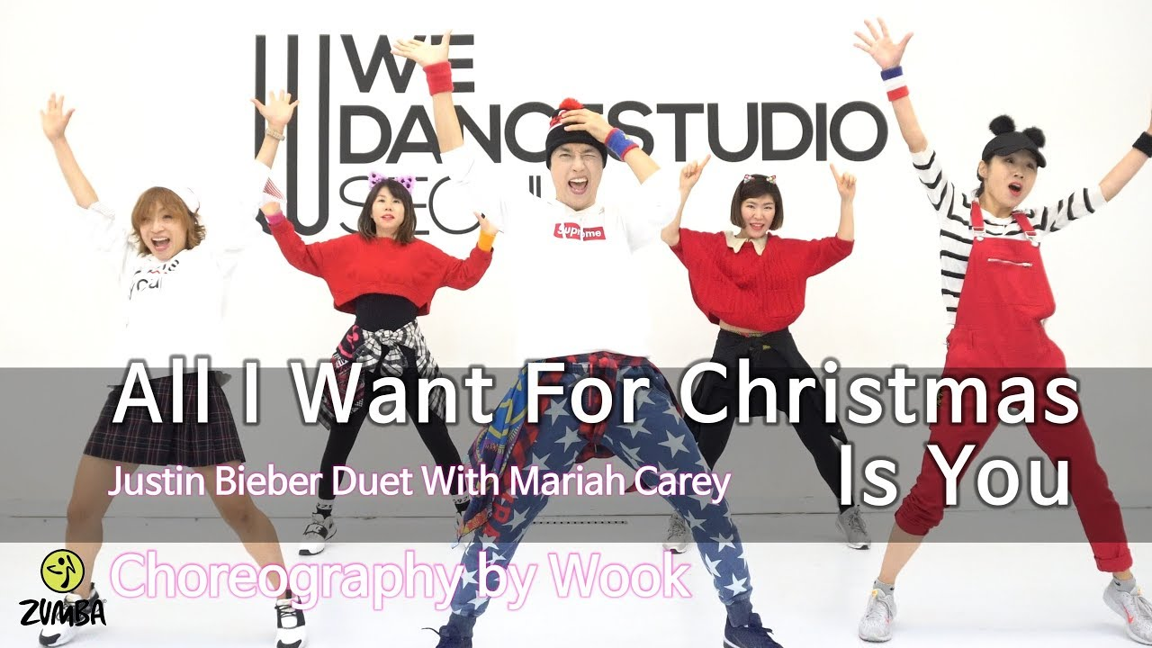 All I Want For Christmas Is You Justin Bieber Mariah Carey Choreography Zin Wook Youtube