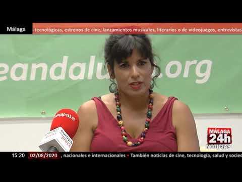 🔴Noticia - Teresa Rodríguez: Vox utiliza la moción de censura sólo para hacer ruido