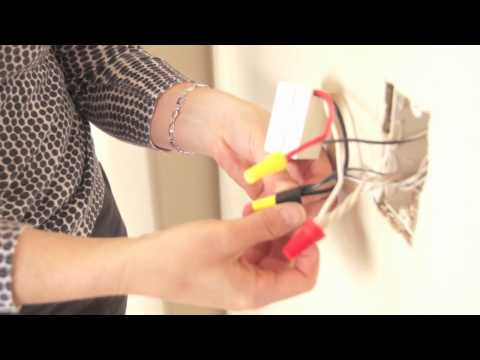 How to Move a Light Switch Using the Illumra Wireless Switch ... Additional Light Switch Without Wiring on