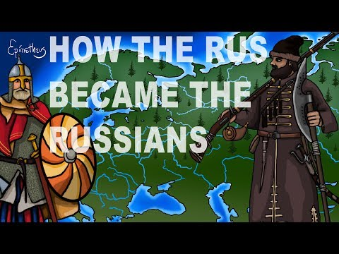 How the Rus became the Russians, slavic history explained