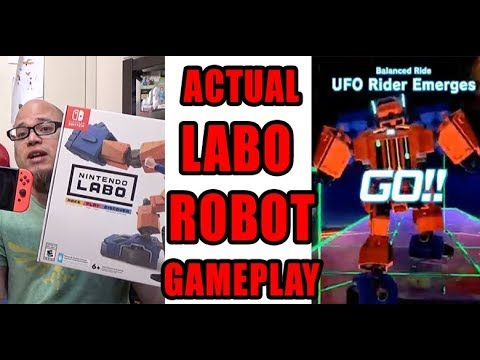 Actual LABO Gameplay FOOTAGE