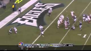 LeSean McCoy 50 yard touchdown run on 4th down
