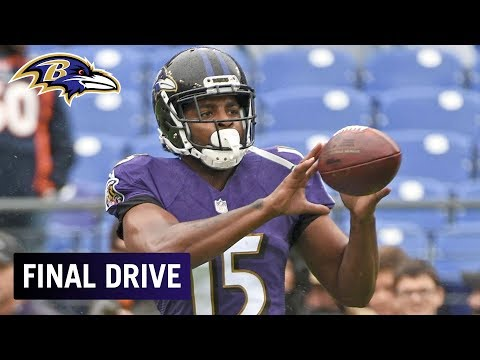 Rebuilding WR Corps After Michael Crabtree's Release | Ravens Final Drive