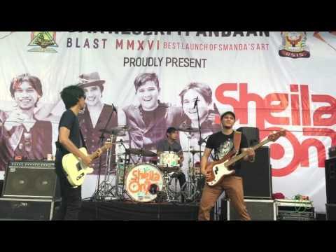 Hujan Turun - Sheila On 7 | SMANDA BLAST 2016