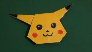 簡単 キャラクター 折り紙