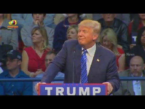 Donald trump Speech Interrupted Repeatedly By Protesters | North ...