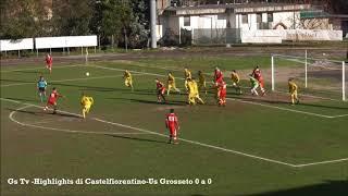 Eccellenza Girone A Castelfiorentino-Grosseto 0-0