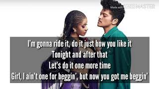 Cardi B & Bruno mars - Please Me (Lyrics)