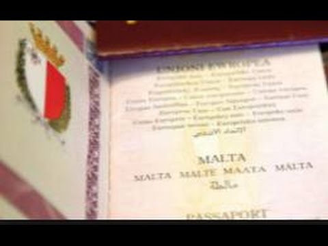 Malta making MILLIONS selling passports to Anyone with the cash